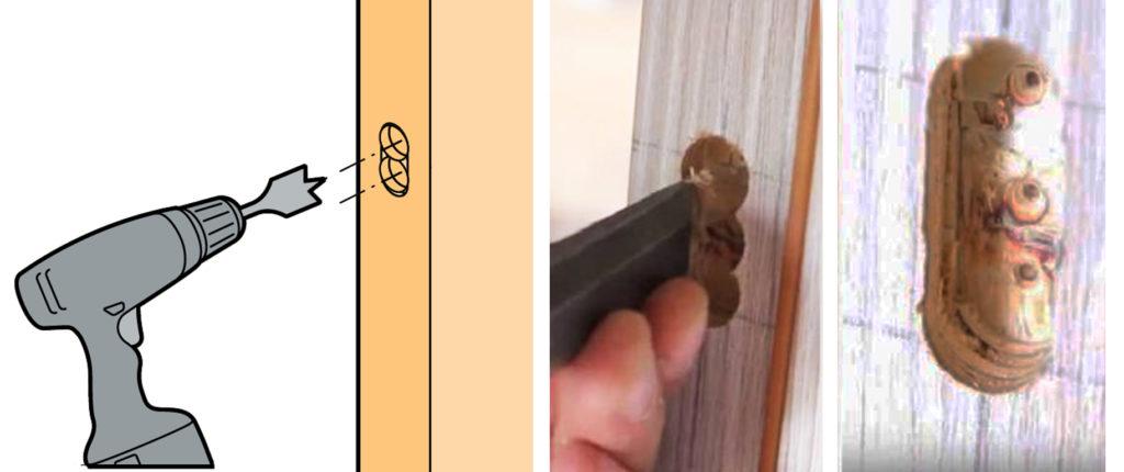 Как врезать замок в деревянную дверь? Последовательность самостоятельных работ