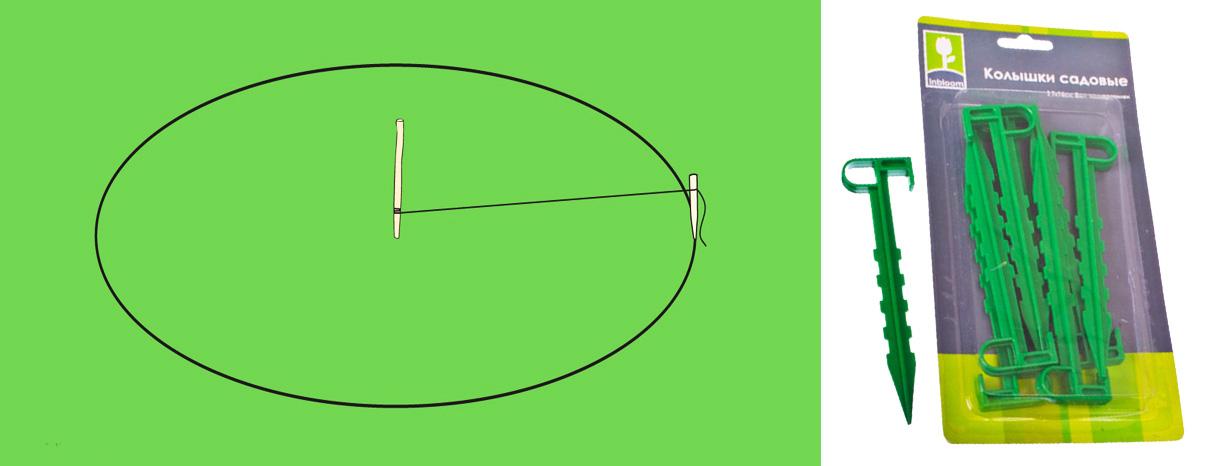 Как сделать на даче клумбу своими руками: схемы и формы
