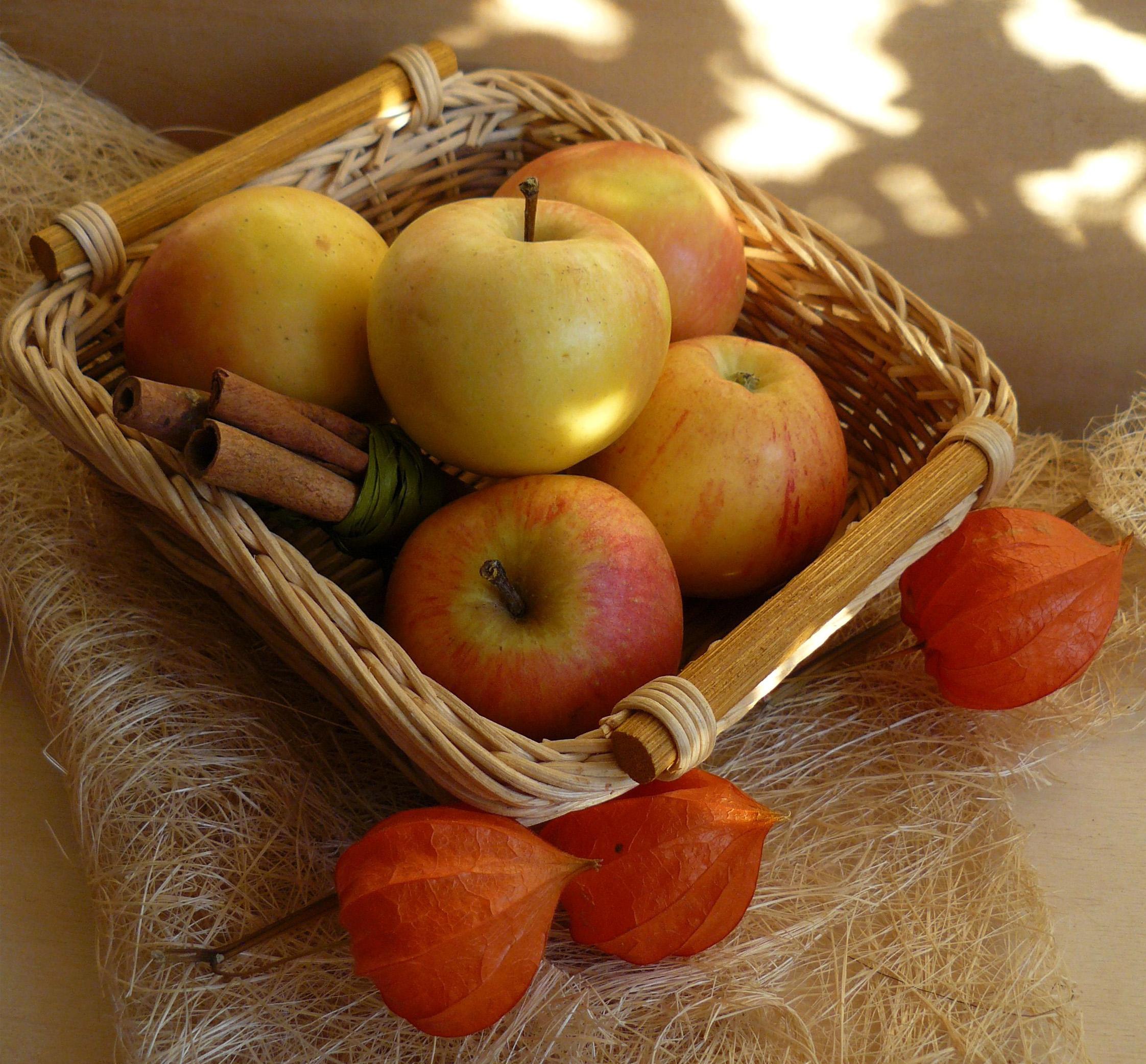 Чай с яблоками и корицей – и осенней хандры как не бывало