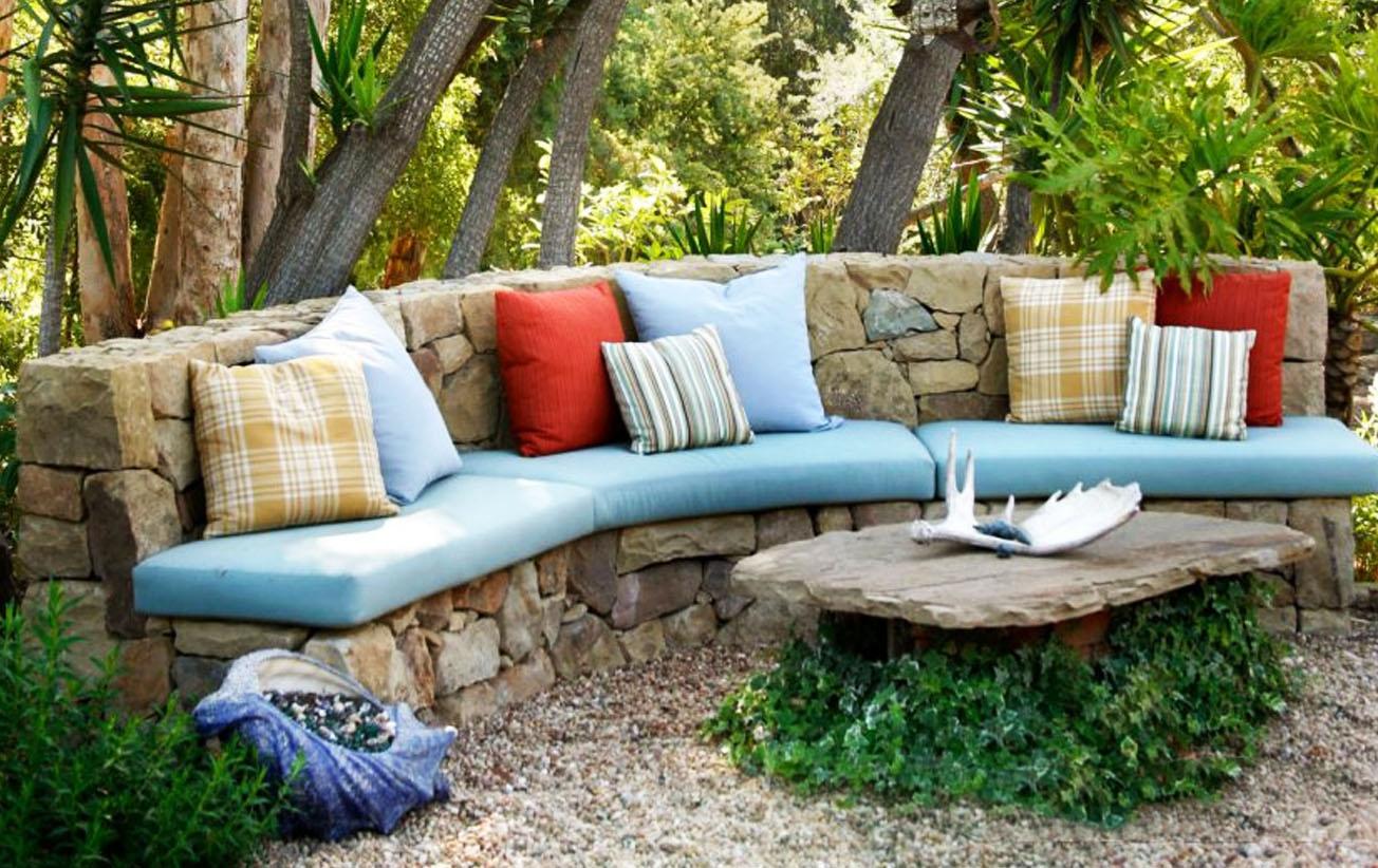 Делаем скамейки для сада своими руками. Материалы, схемы и описание