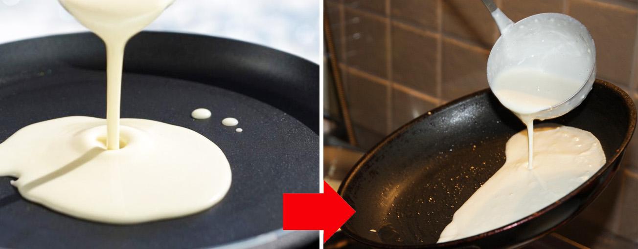Рецепт блинов на молоке: вкусные, тонкие и с дырочками