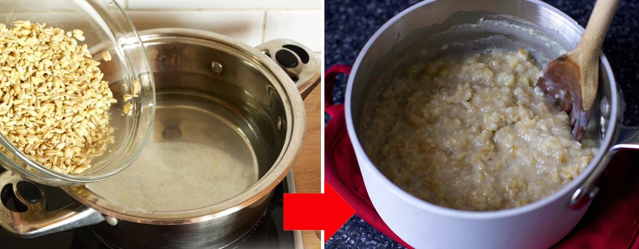Как сварить овсяную кашу: пошаговый рецепт приготовления овсяной каши на молоке и воде